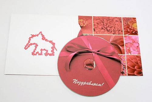 Печать конвертов для дисков от компании «Техноформат»